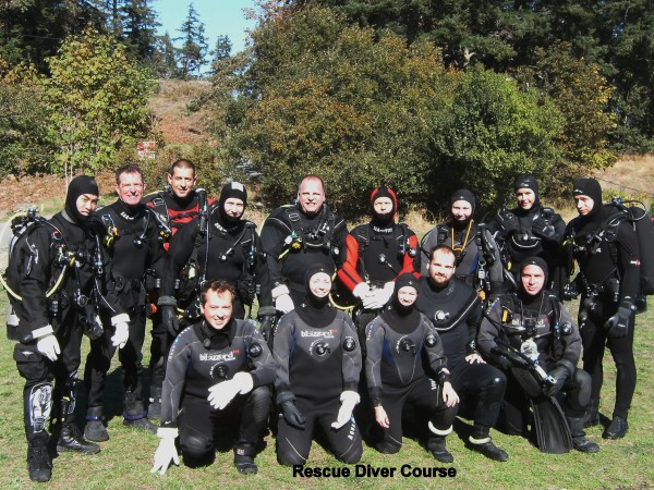 Rescue Diver Course | Diving Pictures Nanaimo BC | Sink or Swim Scuba