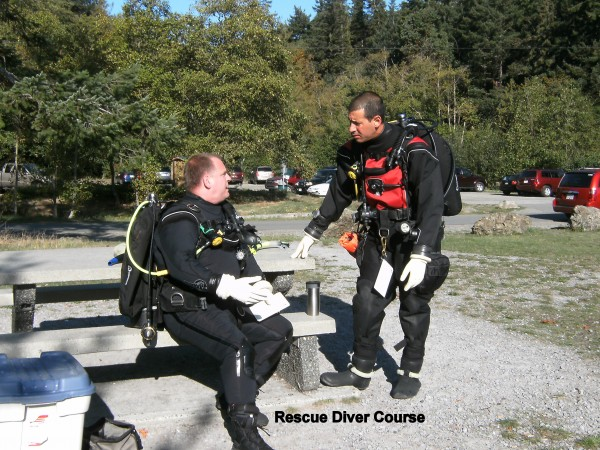PADI Master Scuba Diver Instructors | Dive Course Pictures Nanaimo BC