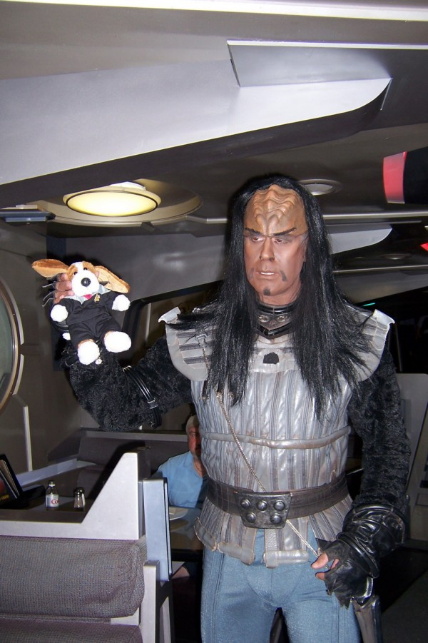 Scubster and Klingon