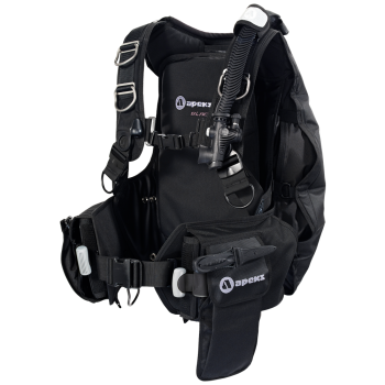Apeks Black Ice BCD Scuba Equipment Nanaimo BC