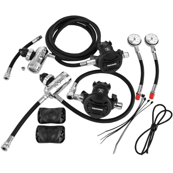 sidemount regulator kit apeks dive gear nanaimo