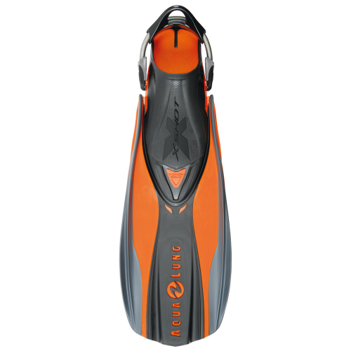 x shot fins orange