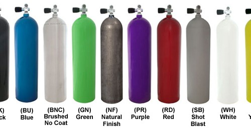 aluminum tank colors