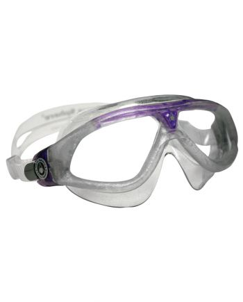 seal xp ladies swim mask purple