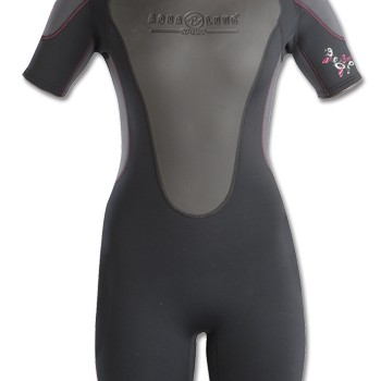 quantum shorty wetsuit ladies